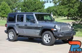 2017 Jeep Wrangler Decals Havoc Side Kit 2018 2020