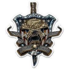 Marine Corps Decals Bumper Stickers Shop Usmc Decals Devil Dog Depot