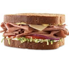 roast beef swiss sandwich arby s