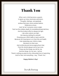 a mother s day poem mother s day gift
