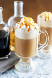 hazelnut coffee with irish cream