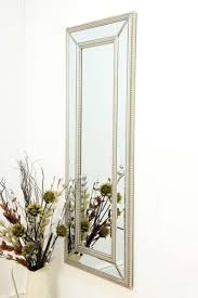 bevelled glass wall mirror 4ft11 x