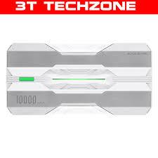 Pin sạc dự phòng Xiaomi Black Shark 10000mAh Sạc nhanh 2 chiều 18w Đen  Trắng Cam