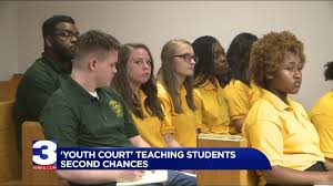 """Youth Court"""" teaching students about second chances"""
