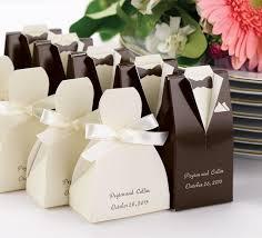 Tuxedo And Wedding Dress Favor Boxes Recuerdos De Boda Detalles