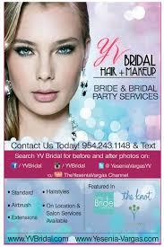 yv bridal hair makeup