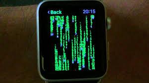 apple watch matrix you