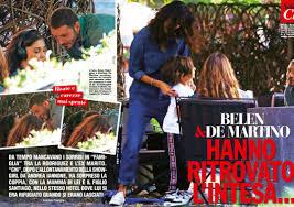 Belen Rodriguez e Stefano De Martino sono tornati insieme ...