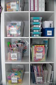 Craft Closet Overview Jpg 664 1 000 Pixels Kids Crafts Organization Kids Craft Supplies Playroom Organization