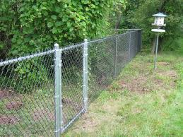 Chain Link Fence Elite Fence Nc Steel Coated Chain Link Zinc Coated