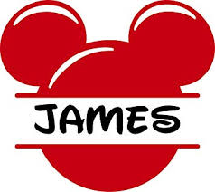 Amazon Com Mickey Mouse Face Personalized Custom Name Wall Decals Wall Design Stickers Vinyl Removable Children Kids Rooms Girls Boys Baby Nursery Cartoon Size 14x14 Inch Baby