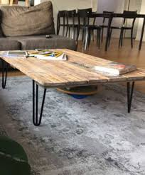 diy coffee table legs hairpin table