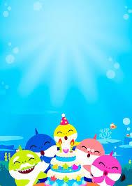 Baby Shark Invitaciones Para Imprimir Gratis Fiesta De