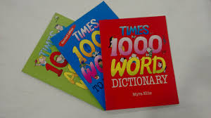 Buy TIMES 1000 WORD DICTIONARY (PACK OF 3) Book Online at Low Prices in  India | TIMES 1000 WORD DICTIONARY (PACK OF 3) Reviews & Ratings - Amazon.in