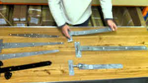 Types Of Gate Hinges Youtube
