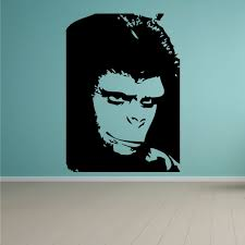 Planet Of The Apes Smiling Decal