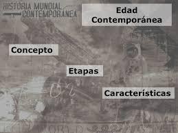 Resultado de imagen de conceptos basicos historia contemporanea