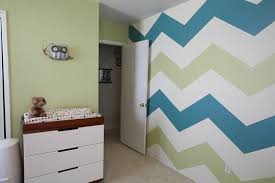 Chevron Accent Walls In Kids Rooms Kids Bedroom Walls Chevron Accent Walls Room Remodeling
