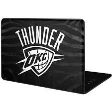Oklahoma City Thunder Black Animal Print Pixelbook Go Skin Nba