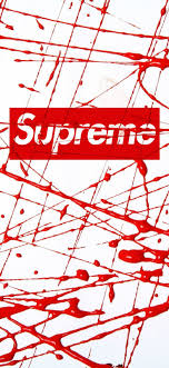 supreme cool iphone wallpaper