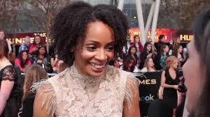 Latarsha Rose (Portia) - The Hunger Games Premiere Interview - YouTube