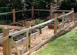 tilly s nest a simple garden fence