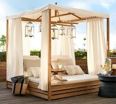 madera teak daybed double outdoor