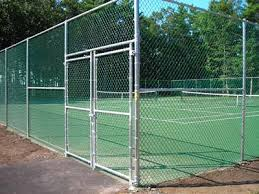Chain Link Fencing For Tennis Courts Fence And Backstops Fence