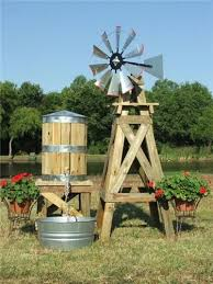 small decorative water tower tank with