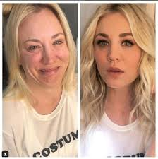 makeup artist stars without make up