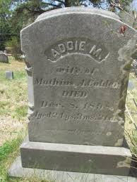 "Adeline May ""Addie"" Ross Calder (1874-1898) - Find A Grave Memorial"