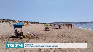 SICILIA - WEEKEN DI FUOCO. BENVENUTO AGOSTO - YouTube