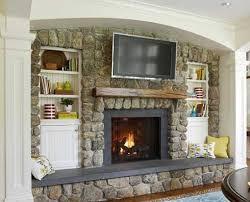 flat screen tv over fireplace designs