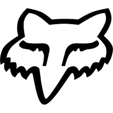 Fox Logo Decal Sticker Fox Logo B Thriftysigns