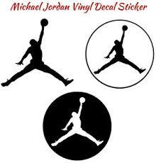 Michael Jordan Vinyl Decal Sticker Basketball Mj Nba Jumpman Car Window Wall Air Ebay