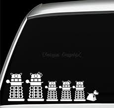 Dr Who Family Dalek Decals Vinyl Stickers By Uniquegraphix On Etsy 2 00 And Up Vinyl Decals Dalek Dr Who