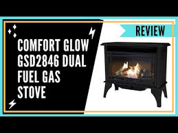 comfort glow gsd2846 dual fuel gas