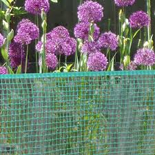 40 X 25 Green Plastic Garden Fence Jaydee Group Boen Products Enguard Fiflexmesh