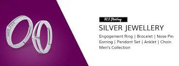 silver fashion jewellery women s