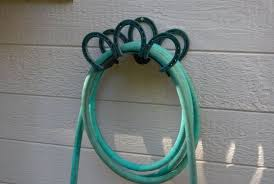 heavy duty garden hose holder holds