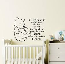 Winnie The Pooh Wall Decals Winnie The Pooh And Piglet Decal Etsy