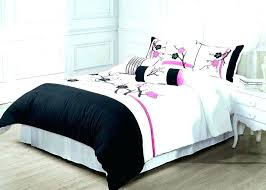 delightful pink and green bedding black