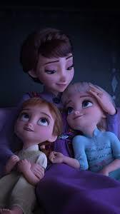 frozen 2 anna elsa queen iduna 8k