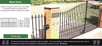 Metal Gates Wrought Iron Gate Uk Manufacturers Evador