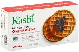 kashi gluten free original waffles