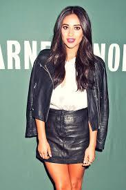 black leather jacket white shirt