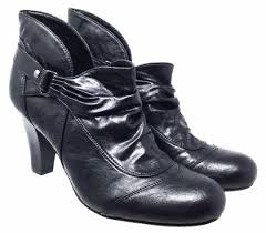 9m eu 40 leather boots booties
