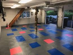 best garage floor paint tiles or mat