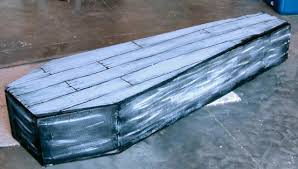 y blue s home made coffin