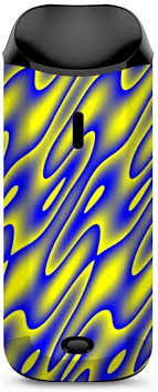 Amazon Com Skin Decal Vinyl Wrap For Vaporesso Nexus Aio Kit Vape Stickers Skins Cover Neon Blue Yellow Trippy